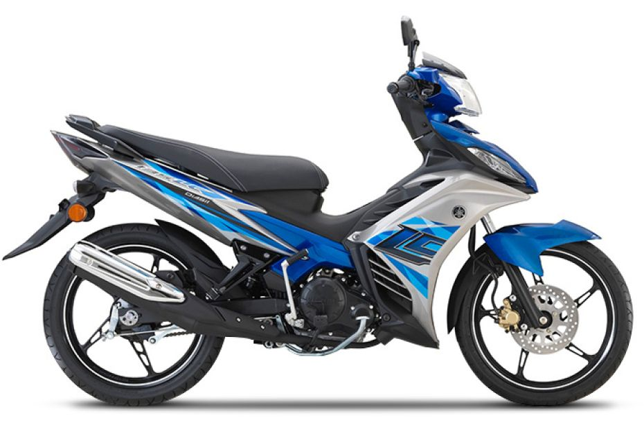 Yamaha 135LC Super Sport Colours, Available in 4 Colours in Malaysia