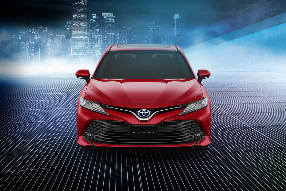 Full Front View of Camry 2019
