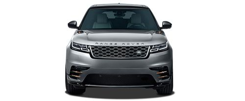 Full Front View of Range Rover Velar