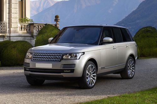 Range Rover Front angle low view
