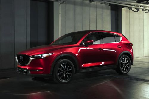 Mazda CX-5 Front Side View