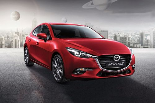 Mazda 3 Hatchback Front Medium View