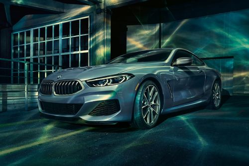 BMW 8 Series Front Side View