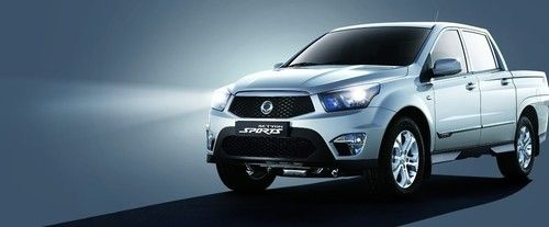 SsangYong Actyon Sport Front Side View