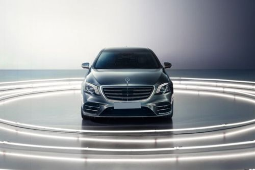 Full Front View of S-Class Saloon