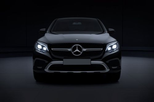 Full Front View of GLC-Class Coupe