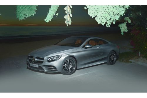 Mercedes Benz S-Class Coupe Front Side View