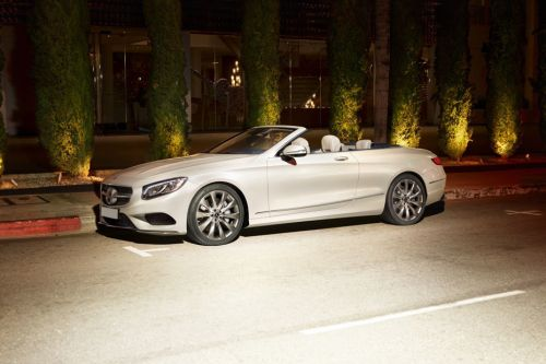S-Class Cabriolet Front angle low view