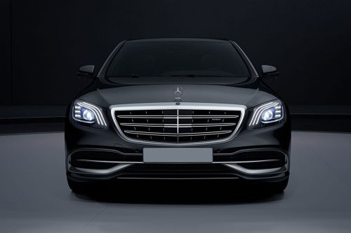 Full Front View of Maybach S-Class