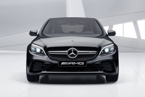 Full Front View of C-Class Saloon 2018
