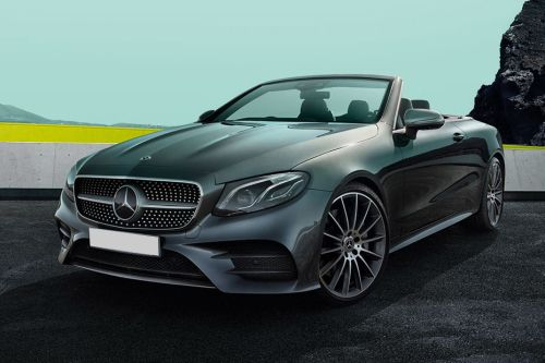 E-Class Cabriolet Front angle low view