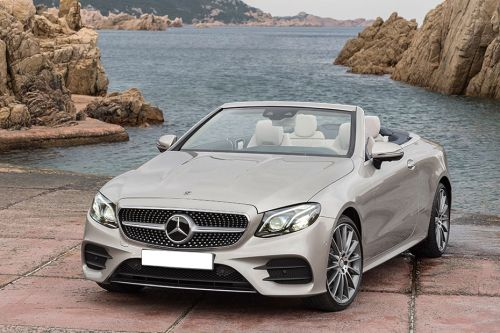 Mercedes Benz E-Class Cabriolet Side Medium View