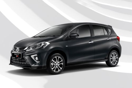 Myvi 2018 Front angle low view
