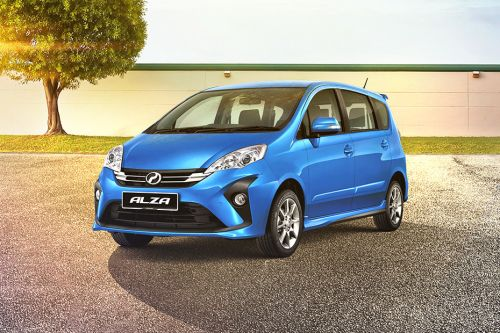Alza Front angle low view