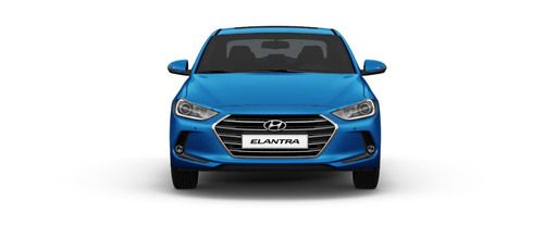 Full Front View of Elantra