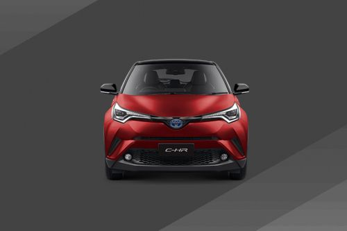 Full Front View of C-HR