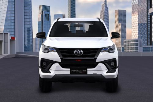 Full Front View of Fortuner