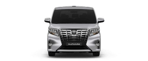 Full Front View of Alphard