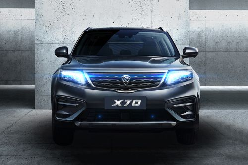 Full Front View of X70