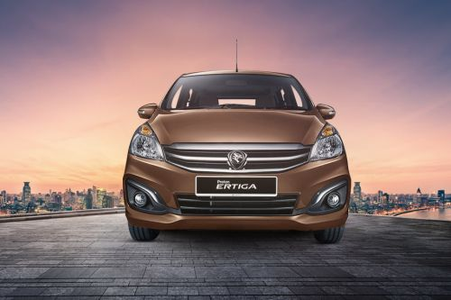 Full Front View of Ertiga
