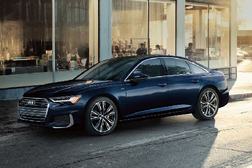 Audi A6 2019 Front Side View