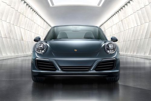 Full Front View of 911
