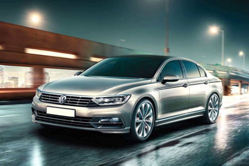 Passat Front angle low view