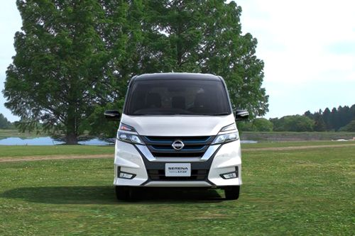 Full Front View of Serena S-Hybrid 2018