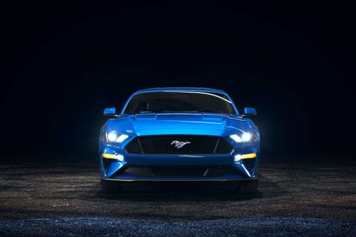 Full Front View of Mustang 2019