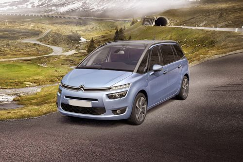 Grand C4 Picasso Front angle low view