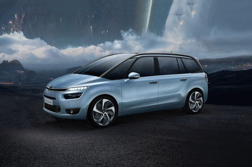 Citroen Grand C4 Picasso Side Medium View
