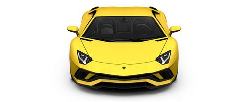 Full Front View of Aventador