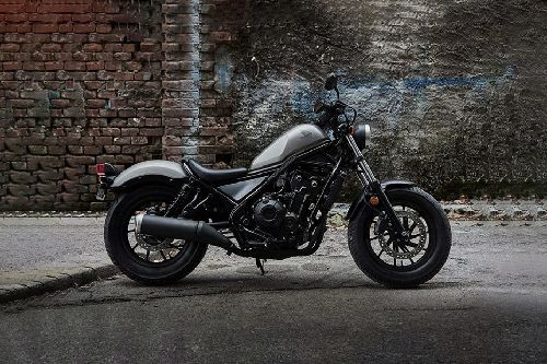 Honda Rebel Right Side Viewfull Image