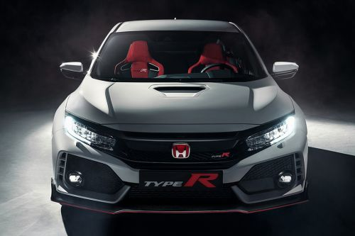 Full Front View of Civic Type R