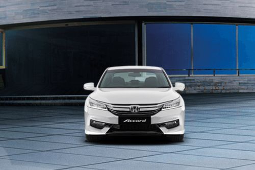 Full Front View of Accord