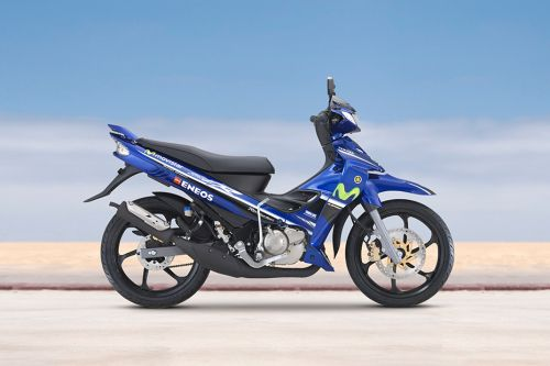 Yamaha 125ZR Right Side Viewfull Image