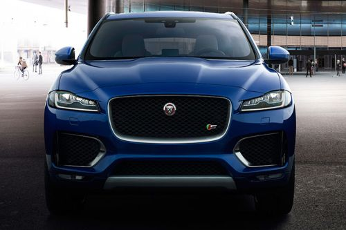 Full Front View of F-Pace
