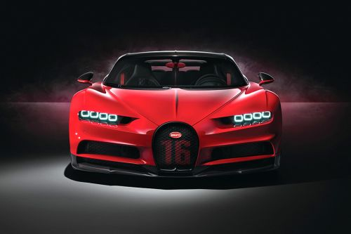 Full Front View of Chiron Sport